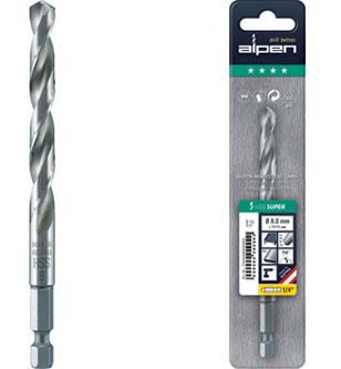 UK Drills 1//2 HSS Jobber 5 Drill Bits Rolled High Speed Steel 1//64 to 1//2