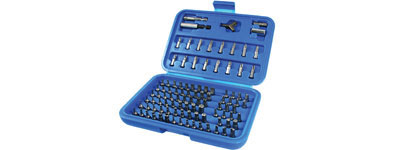 100pc Security Bit Set